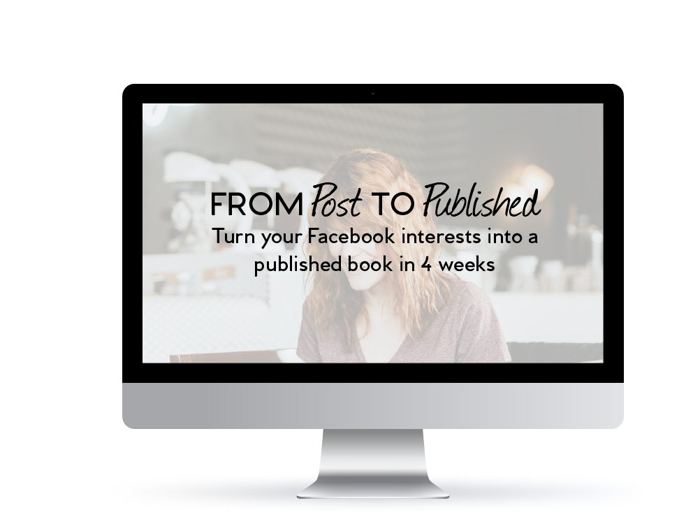 Turn Your Facebook posts into a published book